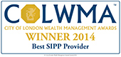 City of London Wealth Management Awards 'Best SIPP Provider 2014'