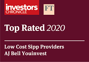 Investors Chronicle FT Awards 2020 Low Cost SIPP