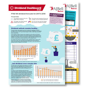 Dividend dashboard preview
